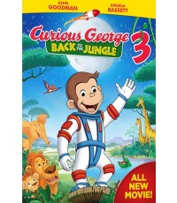 Curious George Movie : Back to the Jungle 2015 (พากย์อังกฤษ) DVD 1 แผ่น