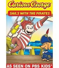 Curious George Collection Vol.9 Sails with the Pirates (พากย์อังกฤษ) DVD 1 แผ่น รวม 8 ตอน