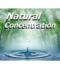 Natural Concentration (CD 1 แผ่น) ดนตรีบรรเลงผสานเสียงธรรมชาติ/สำหรับร้านสปา,ทำสมาธิ และการผ่อนคลาย