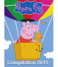 Peppa Pig 2015 Compilation รวมฮิต ปี 2015 (พากย์อังกฤษ/ไม่มีซับ) DVD 1 แผ่น รวม 24 ตอน