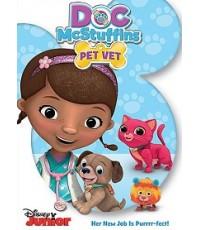 Doc McStuffins: Pet Vet (พากย์+ซับ 3 ภาษา ไทย,จีน,อังกฤษ) DVD 1 แผ่น