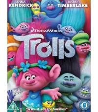 Trolls โทรลล์ส 2016 (พากย์ 2 ภาษา ไทย,อังกฤษ/ซับไทย) DVD 1 แผ่น