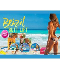 Brazil Butt Lift Complete Set (พากย์อังกฤษ) DVD 4 แผ่น