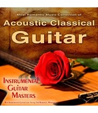 Most Romantic Guitar Music Collection (CD Mp3) รวม 7 อัลบั้ม 105 เพลง ไว้ใน 1 แผ่น