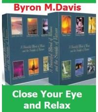 Close Your Eyes and Relax Vol.1-12 ดนตรีผสานเสียงธรรมชาติ/ DVD Mp3 ชุด 2 แผ่น