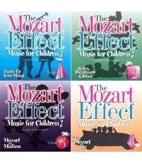 The Mozart Effect for Children Vol.1-4 (CD Mp3) 1 แผ่น/ สำหรับอายุ 2-16 ปี