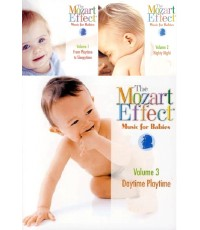 The Mozart Effect ซีรี่ย์ 1-3 Music for Babies Series (for Mom and Kid) CD Mp3/ 1 แผ่น