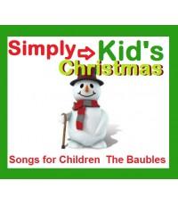 เพลงคริสต์มาสภาษาอังกฤษ Simply Kids\' Christmas Vol.1-4 [CD MP3/ 1 แผ่น] รวม 84 เพลง