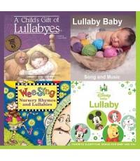 รวมเพลง/ดนตรีบรรเลง/นิทานกล่อมนอน A Child\'s Gift of Lullabyes 4in1 (CD MP3/ 1 แผ่น) รวม 150 เพลง