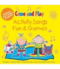 Come and Play: 35 Activity Songs Fun and Games (เสียงอังกฤษ) CD MP3/1 แผ่น