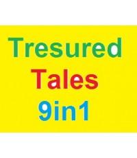 Tresured Tales 9in1 (รวม 9 เรื่อง 2 ชั่วโมง) CD-Mp3 เสียงอังกฤษ 1 แผ่น