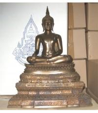 พระบูชา ชินสีห์ 9 นิ้ว รุ่นฉลองพระชันษา 96 ปี สมเด็จพระสังราช 8 รอบ  (เช่าบูชาแล้ว)