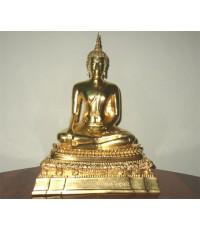 พระพุทธชินสีห์ บูชา ขนาดหนักตัก 5 นิ้ว รุ่น ๘๐ พรรษา สมเด็จพระสังฆราช ปี 36