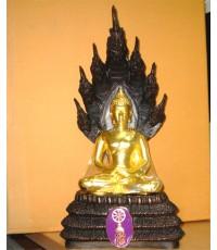 พระบูชา นาคปรก หน้าตัก 5 นิ้ว วัดบวรนิเวศวิหาร หมายเลข 569 สร้างปี 2539