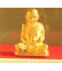 พระรูปเหมือนลอยองค์ สมเด็จพระญาณสังวร สมเด็จพระสังฆราช รุ่นแรก ปี 2531 เนื้อทองคำ มีกล่อง องค์ที่ 2