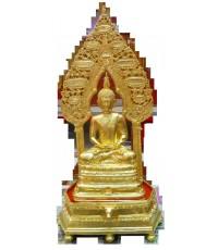พระนิรันตราย บูชา หน้าตัก 5 นิ้ว เนื้อทองเหลือง พ.ศ.2548 (ปิดทอง) พระสวย พิธีดี เจตนาเยี่ยม