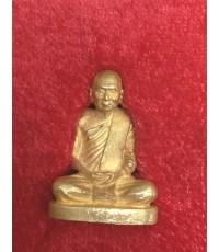 พระรูปเหมือน สมเด็จพระญาณสังวร รุ่นแรก ปี 2531 เนื้อทองคำ พิมพ์กลาง ทองคำหนัก 28 ก. (เช่าบูชาแล้ว)