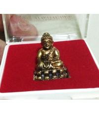 พระกริ่งปุ้มปุ้ย ปี 2549  พิมพ์ใหญ่ เนื้อทองผสม ที่ระลึกพระพรหมมุนี (จุนท์) (มีผู้เช่าบูชาแล้ว)