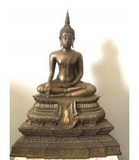 พระพุทธชินสีห์ ภปร. หน้าตัก 7 นิ้ว  ที่ระลึกสมโภช 175 ปี  วัดบวร และ ครบ 7 รอบ ในหลวง (เช่าบูชาแล้ว)