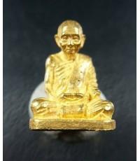พระรูปเหมือน สมเด็จพระญาณสังวร สมเด็จพระสังฆราช รุ่นแรก ปี 2531 เนื้อทองคำ จิ๋ว (เช่าบูชาไปแล้ว)