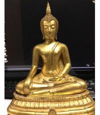 พระบูชาพระพุทธชินสีห์ภปร-ญสส คณะทันตฯ จุฬาฯ สร้างพิธีใหญ่วัดบวรฯ ปี2533 องค์นี้ (เช่าบูชาไปแล้ว)