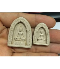 พระไพรีพินาศ พิมพ์ใหญ่-เล็ก 1 คู่่ วัดบวรนิเวศ  รุ่น ศตวรรษพระสังฆราชเจ้า (เช่าบูชาไปแล้ว)