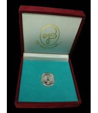 เหรียญสมเด็จพระญาณสังวร ฉลอง 75 ปี 3 ตุลาคม 2533 พร้อมกล่องเดิม ๆ อลังการมาก เนื้อเงิน หายากครับ