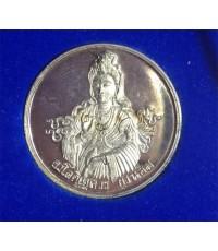 พระอวโลกิเตศวร (กวนอิม) พระเทพกวี (จุนท์ พรหฺมคุตฺโต) จัดสร้างในวาระครบวาระ ๕ รอบ เนื้อเงิน งามสุด ๆ