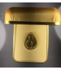 เหรียญสมเด็จพระสังฆราช พิมพ์หยดน้ำ เนื้อทองคำ พิมพ์ใหญ่ ครบ1 ปี สถาปนา พร้อมกล่องเดิม ๆ หายากครับ