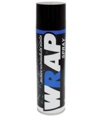 WRAP SPRAY สเปรย์หล่อลื่นโซ่สีใส 600ml.