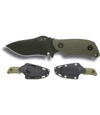 มีด Zero Tolerance รุ่น Model 0121 Fixed 4-1/4\'\' S30V, Ranger Green Handles