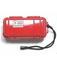 """กล่อง Pelican Micro Case รุ่น 1030 ขนาดภายใน 6.37\"""" x 2.62\"""" x 2.06\"""" สีแดงทึบ"""