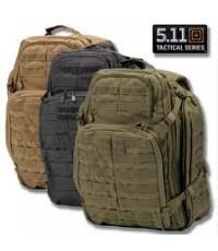 กระเป๋าเป้ 5.11 Tactical Rush 72 Backpack - สี Black, FDE, Sand, OD Green