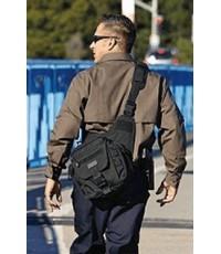 กระเป๋าสะพาย 5.11 Tactical PUSH Pack - สี Black/DFE/OD Green