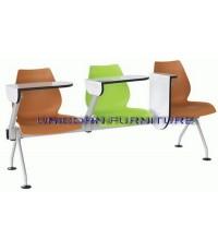 เก้าอี้โพลีแลคเช่อร์ แบบแถว ชนิด 2ที่นั่ง 3ที่นั่ง 4ที่นั่ง รหัส UN 808