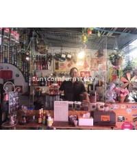 ฉากกั้นร้านอาหาร อะคริลิค สำหรับร้านอาหาร พ่อค้า แม่ค้าขนาด 120x20x120 ซม.