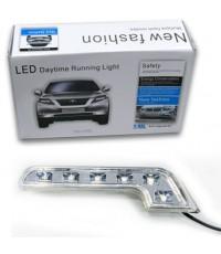 ไฟเดย์ไลท์ L.E.D DAYTIME RUNNING LIGHT 6 LED BENZ STYLE