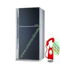 ตู้เย็น TOSHIBA GRRG58KDA หน้ากระจก ราคาถูกกว่าห้าง 22,900฿ ผ่อน O คืนเงิน5-15สอบถามโทร024463881