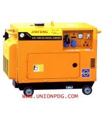 เครื่องปั่นไฟ ใช้น้ำมันดีเซล 380 V air coolde diesel generator series/5GF3-LDE 8.8HP