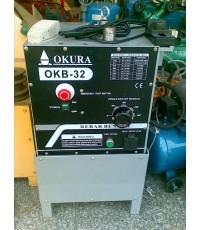 เครื่องดัดเหล็กไฟฟ้า Steel Bar Bender ขนาด 32 mm./OKB-32