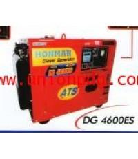เครื่องปั่นไฟดีเซล เครื่องกำเนิดไฟฟ้าดีเซล HONMA /DG4600ES