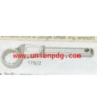 ประแจแหวนเดี่ยวต่อด้าม Single Offset Ring Wrench UNIOR/178