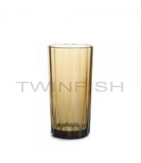 แก้วสีเหลืองเหลี่ยมเพชร