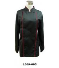 เสื้อกุ๊ก สีดำ แขนยาว รหัส 1609-005