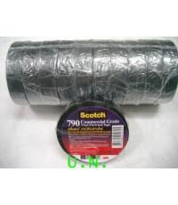 สก๊อตซ์ เทปพันสายไฟ 3M 790 Commercial Grade Vinyl Electrical Tape กว้าง 3/4 (ยาว 20 เมตร)