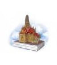 โมเดลกระดาษ 3 มิติ (3D Paper Model)ST01- ปราสาทพระเทพบิดร