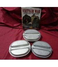 ชุดถาด กระทะ ใส่อาหาร  ทหารยุคสงครามเวียดนาม(หมดครับ)
