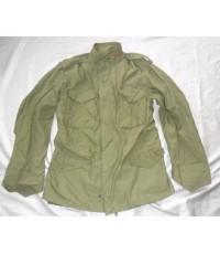 (ขายแล้ว)Jacket M-65 สีเขียว(Olive Green) M-L