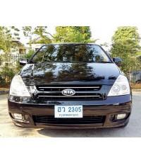 2007 KIA GRAND CARNIVAL 2.9 CRDI สีดำ