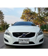 2013 VOLVO V60 1.6 DRIVe 6AT 180 HP สีขาว 6 หมื่นโลเท่านั้น